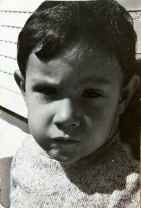 Javi, nuestro psicólogo, de pequeño