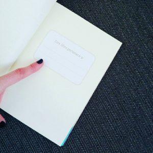 Interior del libro que sorteamos