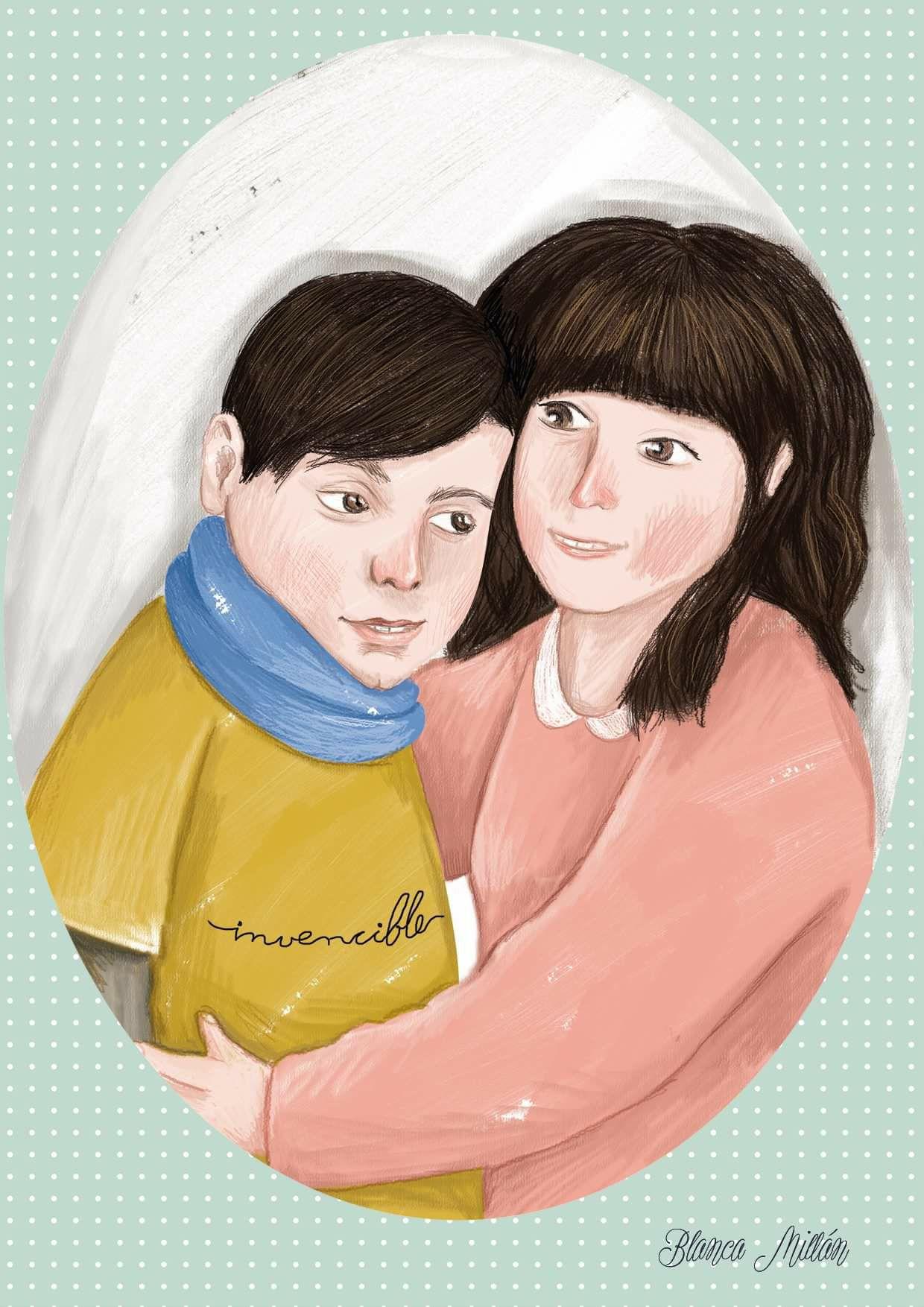 Dibujo de Alexandra Nieto y Alejandro Hernández