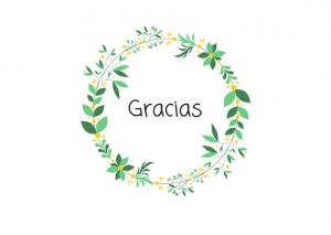 postal de agradecimiento